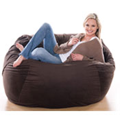 4 ft Jaxx Sac Foam Bean Bag