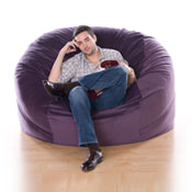 5 ft Jaxx Sac Foam Bean Bag