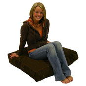 Large Square Floor Cushion Seating